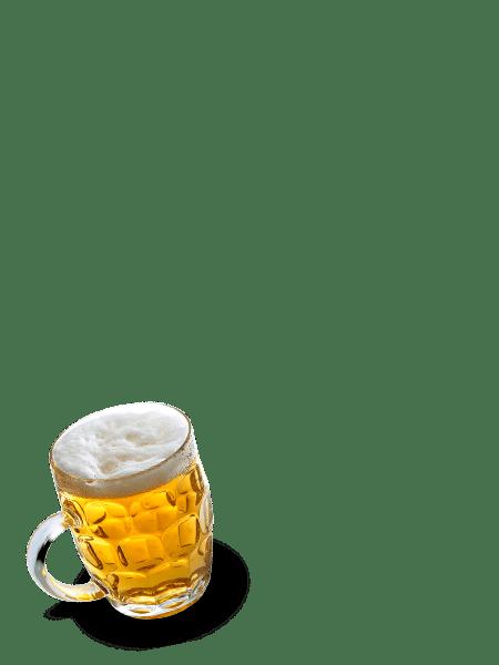 cerveza vertical min - Restaurante y zona baile para despedidas en Salamanca