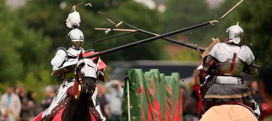 justas - Las justas medievales quieren ser olímpicas