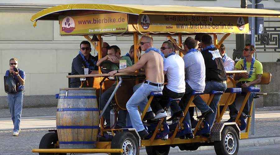 beer bike - Beer Bike, beber cerveza mientras pedaleas