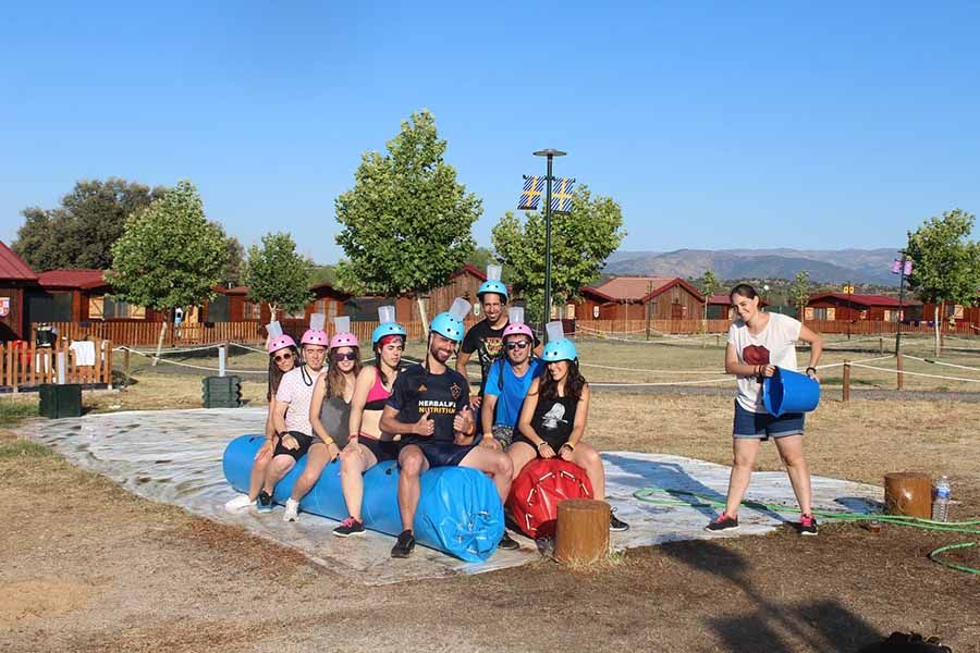Fiestas universitarias en Salamanca 1 - Wipeout en Salamanca para grupos
